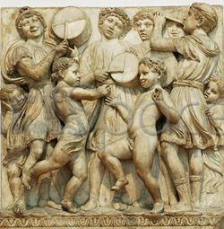 Cantoria pentru Domul din Florenta (detaliu)