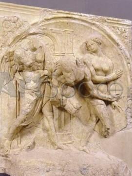 jacopo-della-quercia-fonte-gaia-cacciata-dalleden-siena-frammenti-nel-museo-santa-maria-della-scala-1409-1419-271x360 Portile bisericii Sfantul Petroniu (detaliu), Jacopo della Quercia